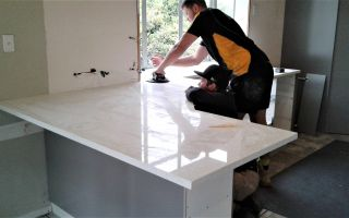 Bench top install